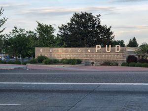 Swinging by Benton PUD to say hello - in the TriCities, Wash.