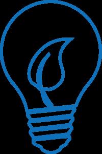 LED lightbulb icon